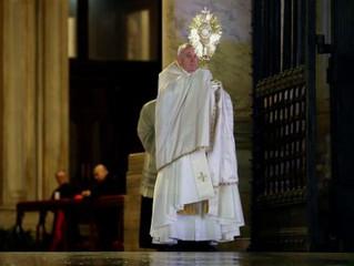 """El Papa Francisco: """"Es tiempo de separar lo que es necesario de lo que no lo es"""""""