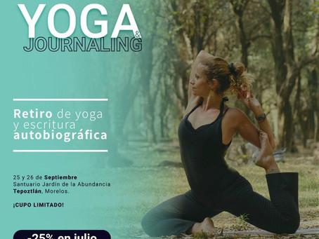 Retiro de yoga y journaling