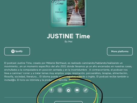 ¿Cómo grabar mensajes vocales tuyos para el podcast Justine Time?