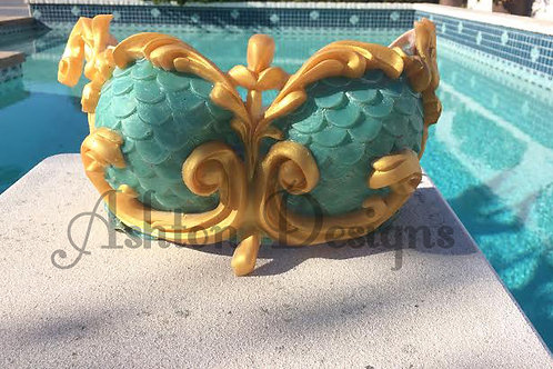 Mermaid top: Cora style