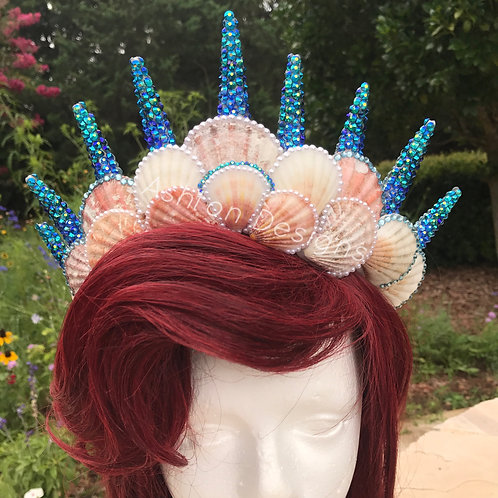 Supreme Mermaid Crown (Custom Made)