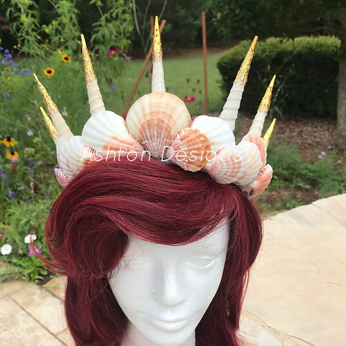 Deluxe Mermaid Crown (Custom Made)