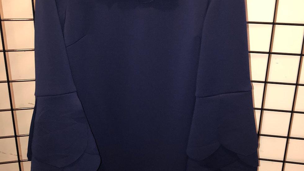 Navy Scuba Dress