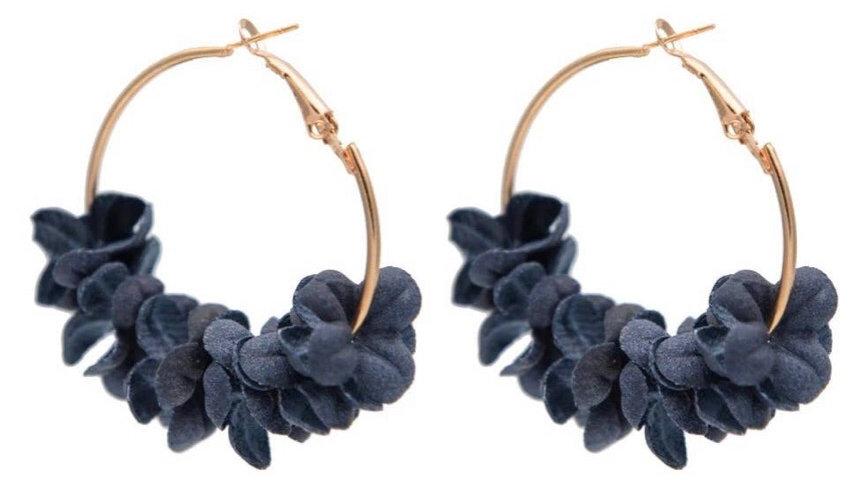 Aussie Earrings Navy