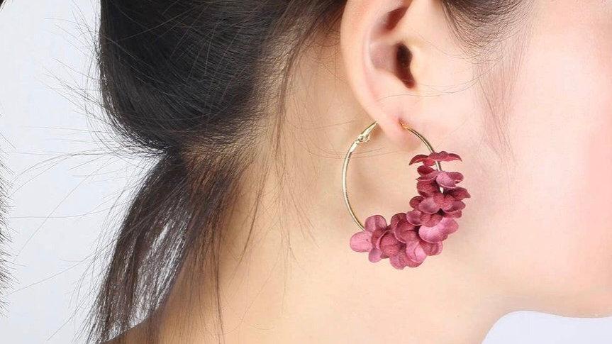 Aussie Earrings Rose