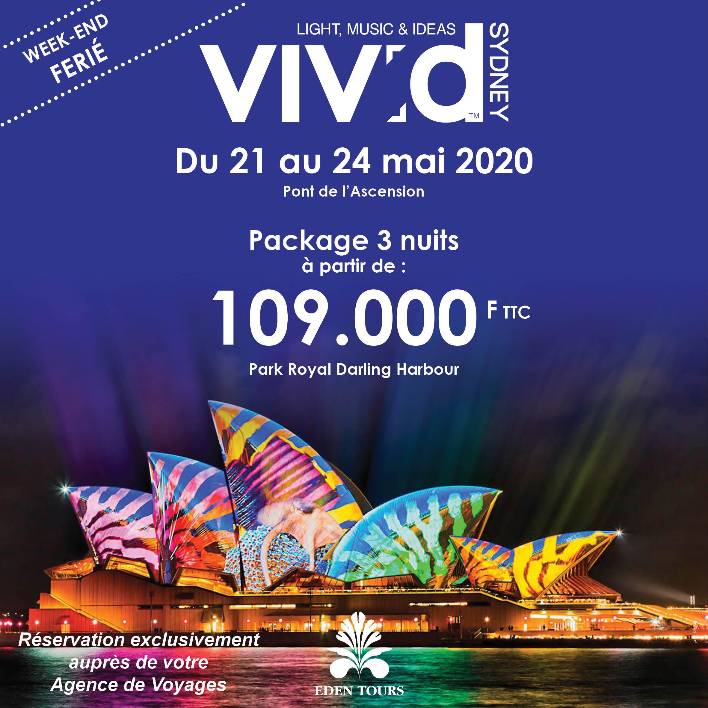Sydney VIVID FESTIVAL 2020   FACEBOOK