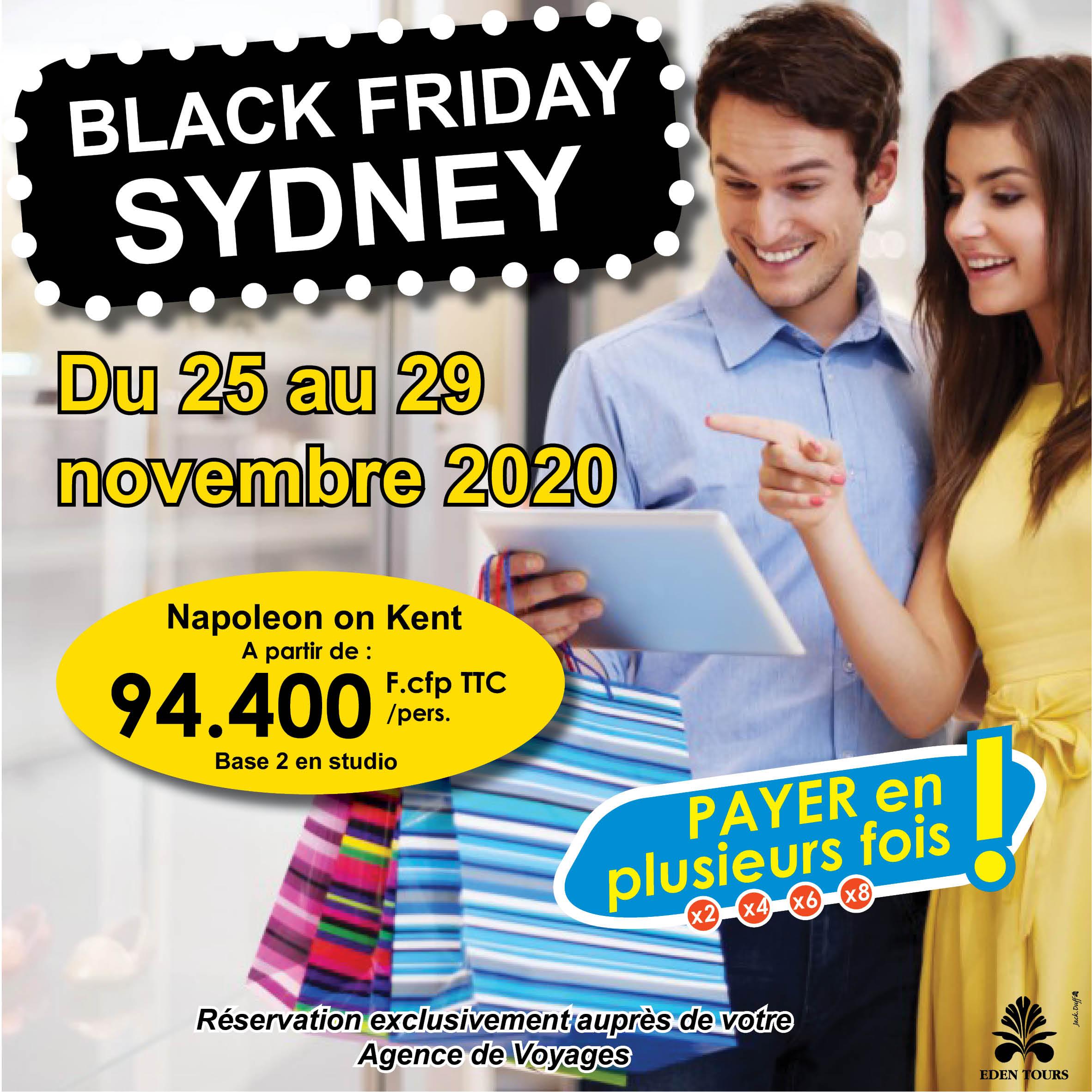 BLACK FRIDAY SYDNEY 2020   FACEBOOK