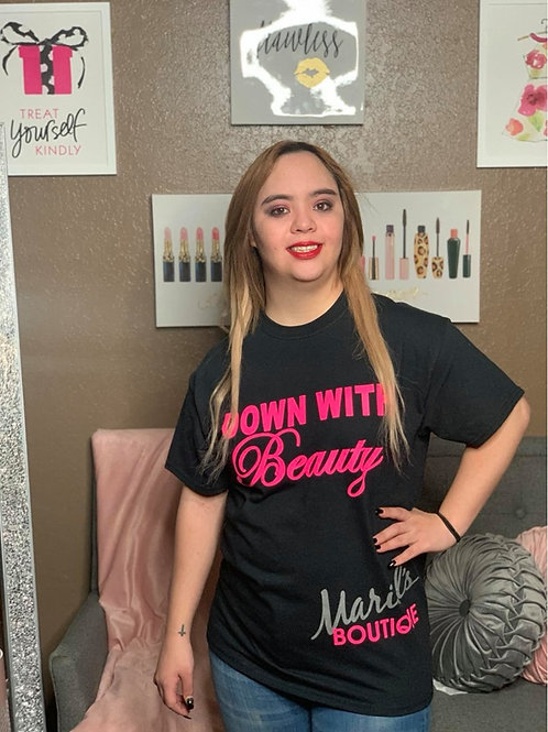 Down With Beauty T-Shirt