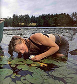 Herb Student with White Pond Lily