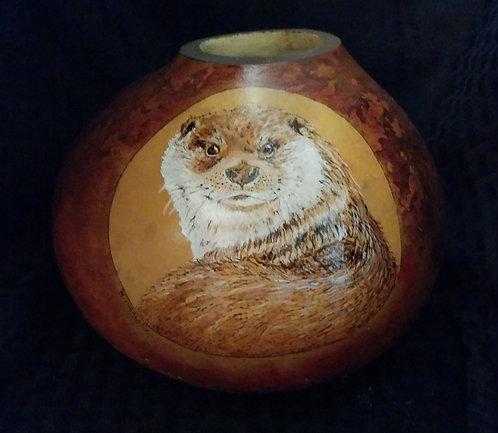Otter Over Shoulder