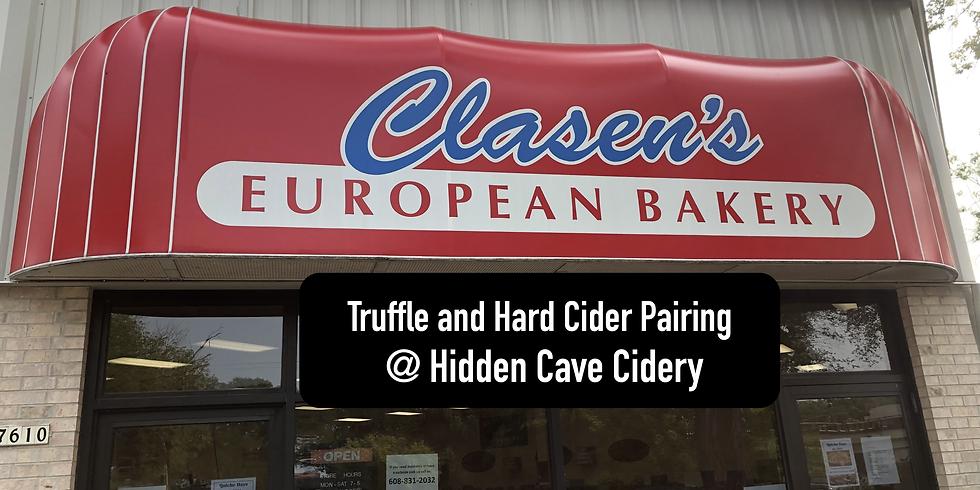 Truffle and Hard Cider Pairing