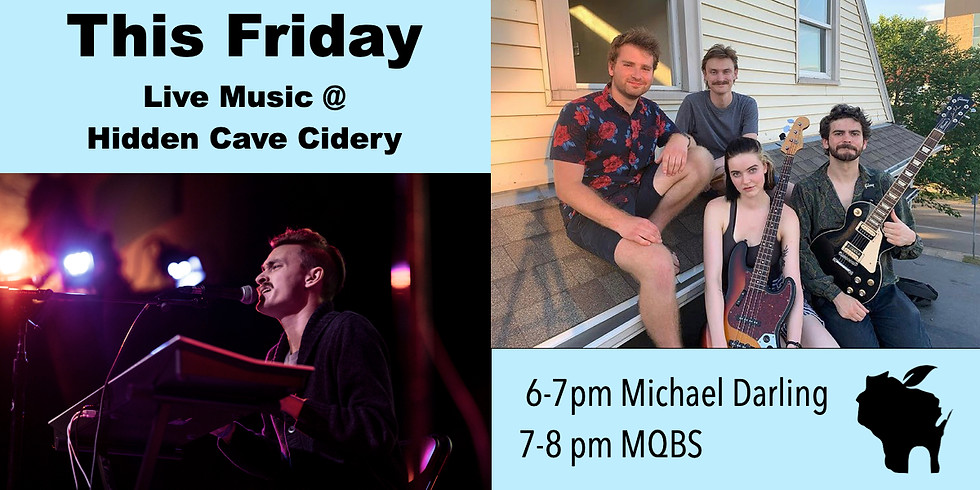 Live Music: Michael Darling & MQBS