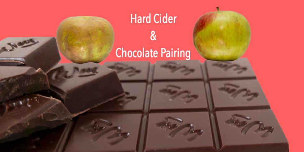 Chocolate and Hard Cider Pairing