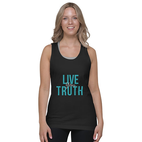 Live Your Truth - Classic tank top (unisex)