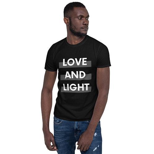 Love and Light Short-Sleeve Unisex T-Shirt