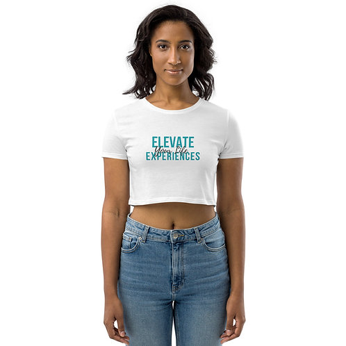 Elevate Your Life Experiences Organic Crop Top