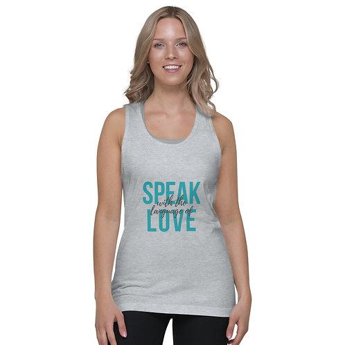 Speak With The Language of Love - Classic tank top (unisex)