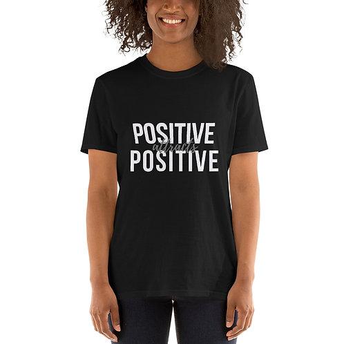 Positive Attract Positive - Short-Sleeve Unisex T-Shirt