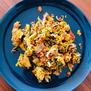 Vegan Scrambled Omelette