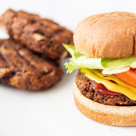 Grillable Black Bean Burger
