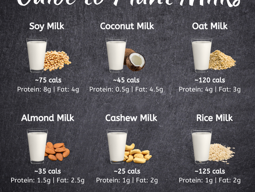 Guide to Plant Milks Graphic