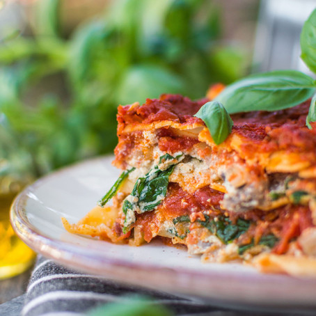 Lasagna with Plant-Based Ricotta