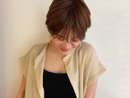 やはりショートが人気でしょう!!!!羽田博子