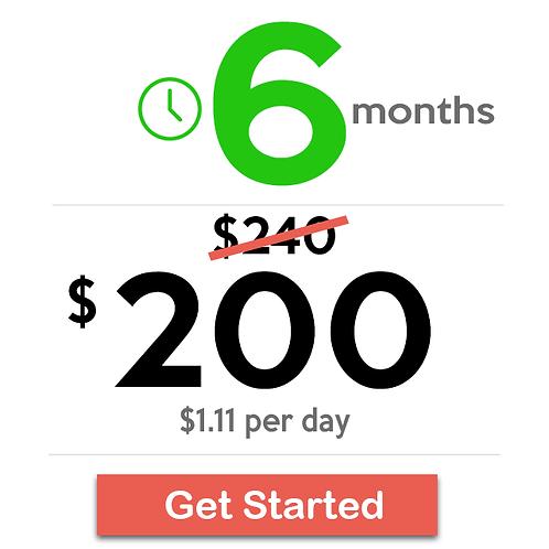 6 Months Basic Plan