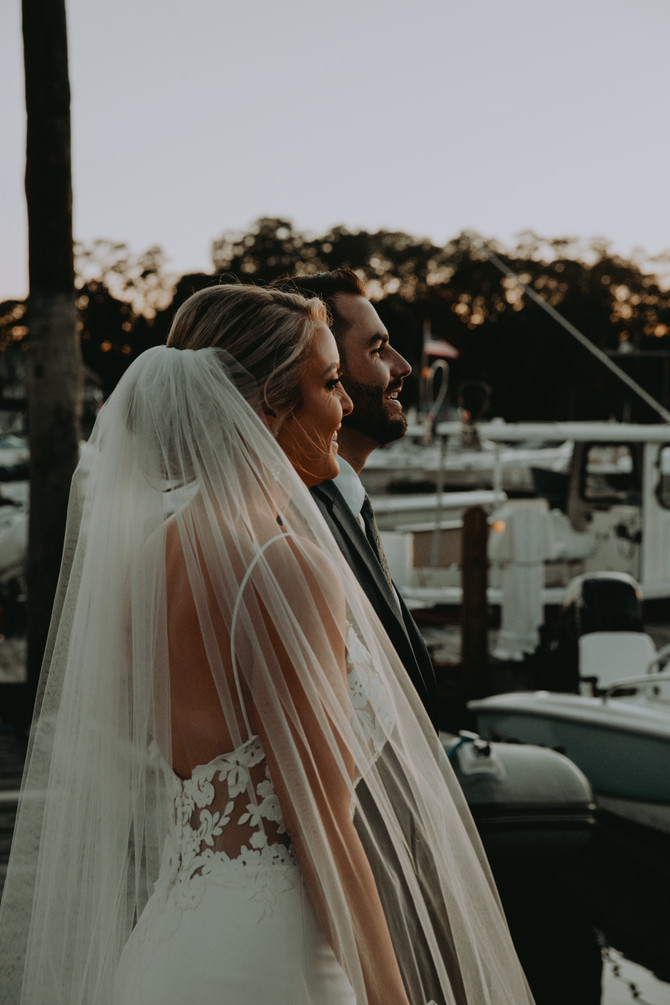 Eliza and Keith's Nautical Wedding