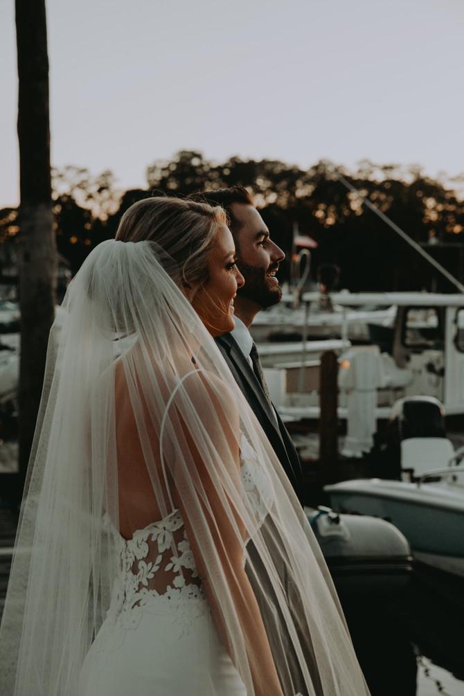 Eliza and Keith's Nautical Wedding
