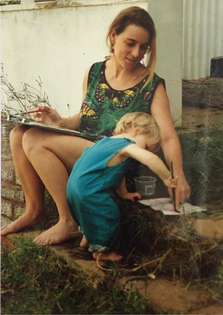 Mom and me making art.png