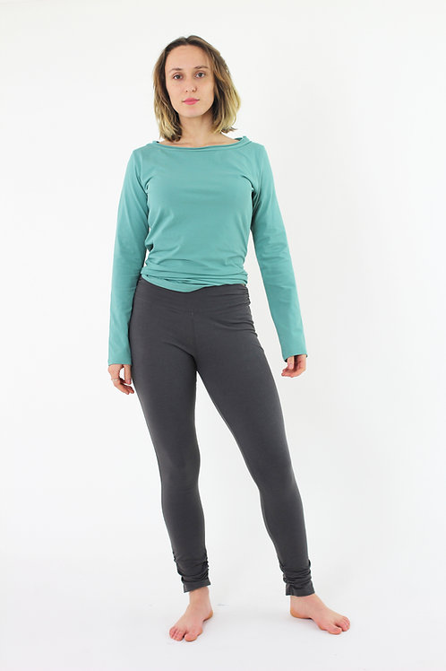 Sillhouette: Long Winter Leggings with ankle rouche detail