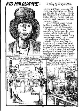 Kid Malalapipe: A story by Casey Motsisi