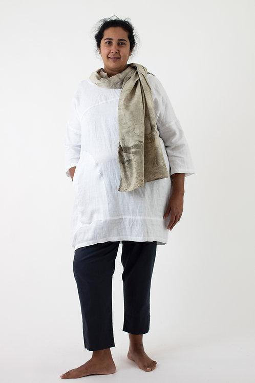 Cotton Voile EcoPrint Scarf