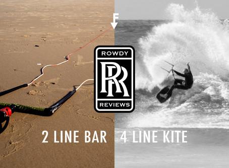 Rowdy Reviews: 2line to 4line Conversion Bar.