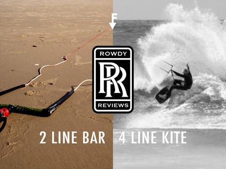 Rowdy Reviews: 2line to 4line Conversion Bar.