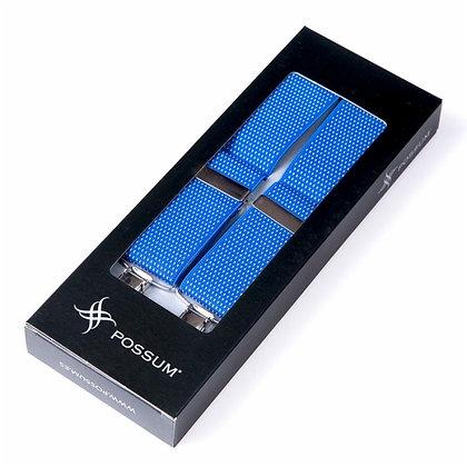 Tirante cruceta azul royal detalles puntos fantasía - POSSUM