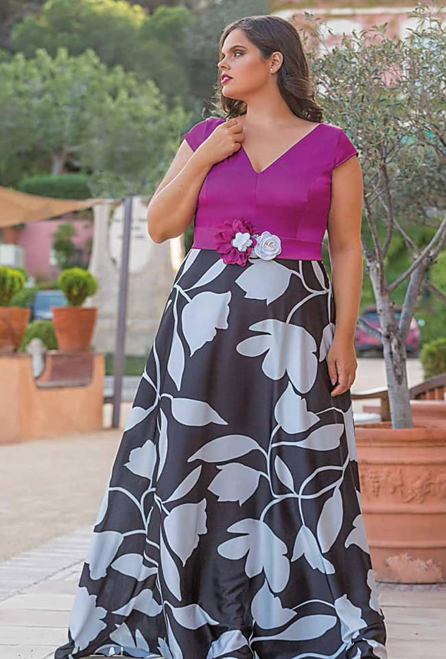Vestidos talla grande fiesta   Dluxe boutique Altea