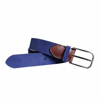 Cinturón de serraje grabado  - POSSUM