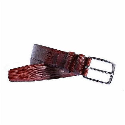 Cinturón de piel legítima de iguana - POSSUM