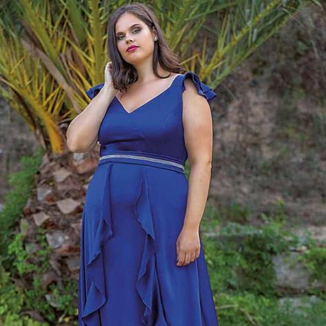 Vestido de fiesta colección talla grande