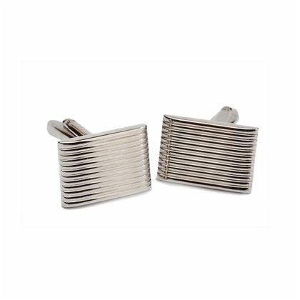 Gemelos rectangulares con rayas
