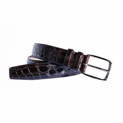 Cinturón de piel legítima de cocodrilo faldas - POSSUM