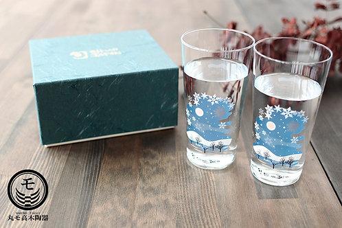 Tenkai Glass Snowflakes (Set of 2 Pcs)