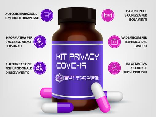 """Un aiuto per le aziende: il """"Kit Privacy Covid-19"""""""