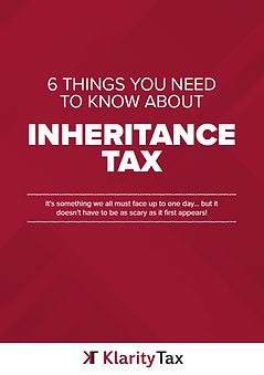 Klarity Tax Inheritance Tax Guide