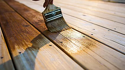 Deck Staing
