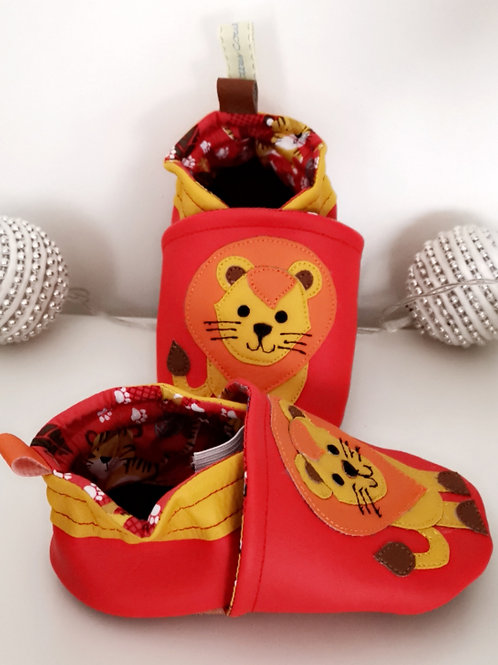 Chaussons Lion