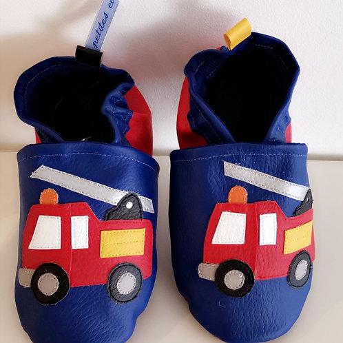 Chaussons Camion de Pompier