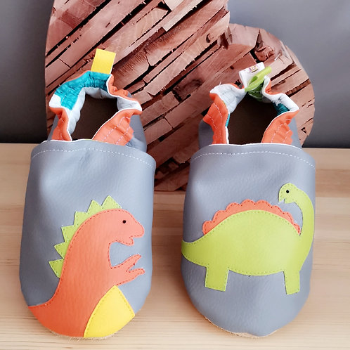 Chaussons Dino